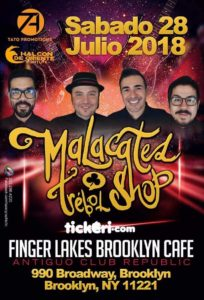 Malacates en Brooklyn 2018